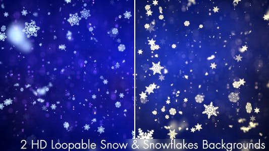 Thumbnail for Snow and Snowflakes 3