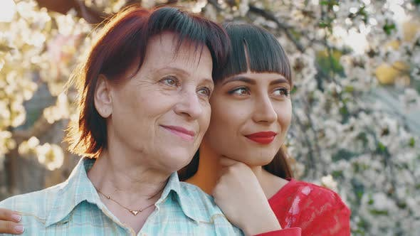 Thumbnail for Elderly Mother and Her Adult Daughter