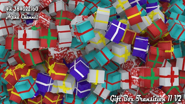 Thumbnail for Gift Box Transition 11 V2