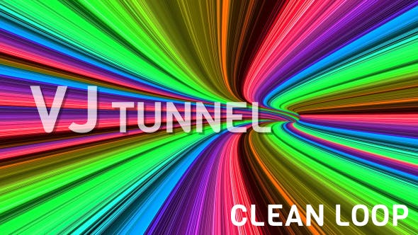 Thumbnail for Colorful Disco Tunnel