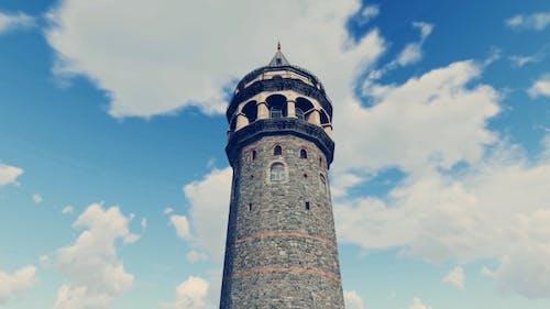 3D Istanbul Galata Tower