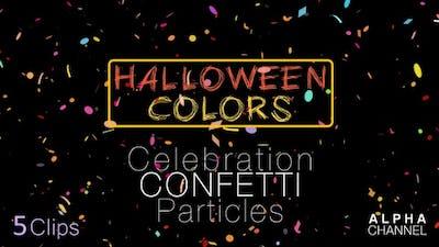 Halloween Celebration Confetti