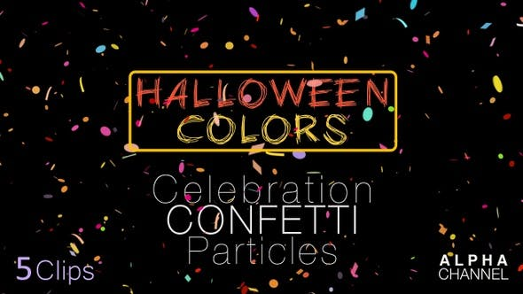 Cover Image for Halloween Celebration Confetti