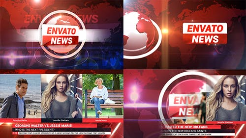 News Broadcast Package