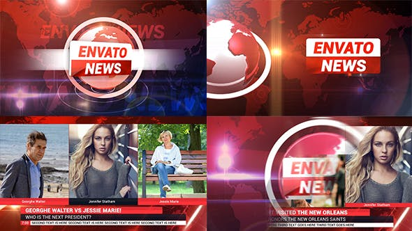 Thumbnail for News Broadcast Package