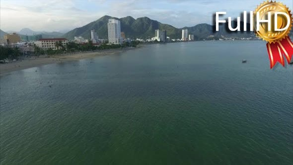 Thumbnail for Aerial View of the Coastline of Nha Trang