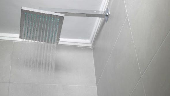 Thumbnail for Arbeitsdusche im Badezimmer