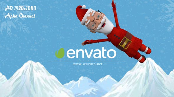 Cover Image for Santa Claus Jumping