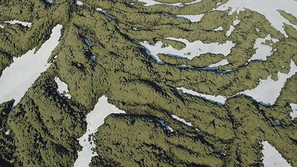 Thumbnail for Moss On Basaltic Rocks In Iceland