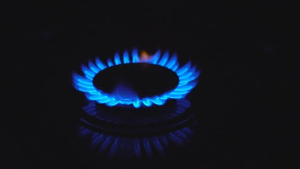 Cover Image for Blue Gas Flame