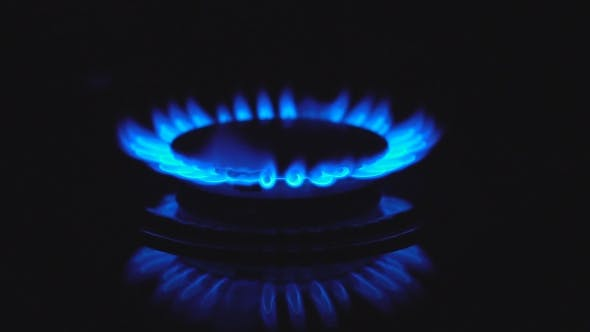 Cover Image for Blue Gas Flame in