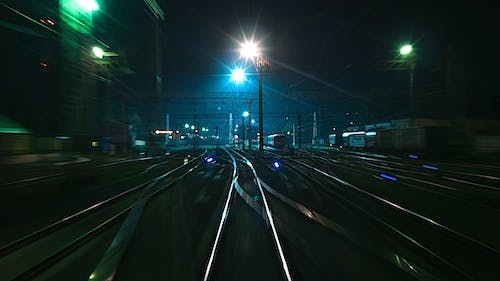 Departure Of The Night Train