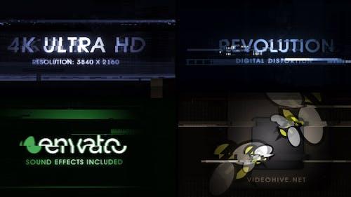 Digital Distortion (Revolution) 4K Ultra HD