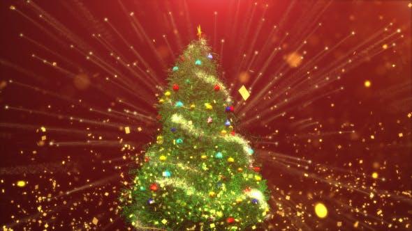 Thumbnail for Christmas Tree Fireworks Confetti