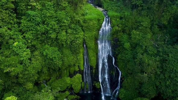 Thumbnail for Banyumala Waterfall in North Bali Island, Indonesia