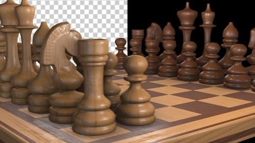 Spinning Chessboard