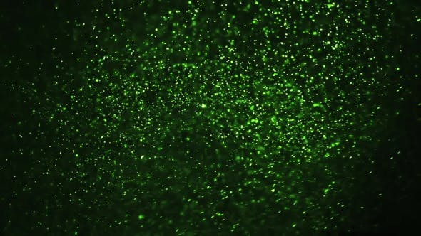 Thumbnail for Green Particles