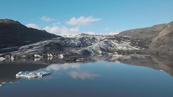 Thumbnail for Solheimajokull Glacier in Iceland