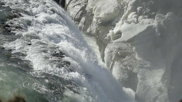 Thumbnail for Downstream From The Waterfall Gullfoss