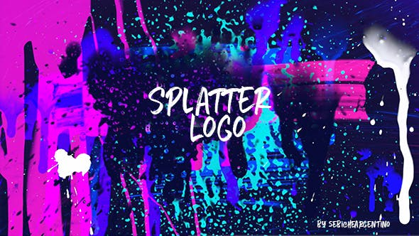 Splatter logo x3