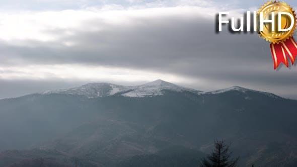 Thumbnail for Clouds Passing the Carpathian Mountain Ridge.