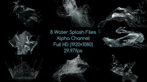 Water Splash Pack 3