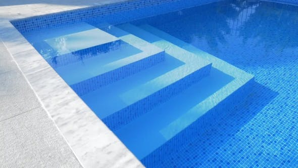 Thumbnail for Stairs in Outdoor Blue Swimming Pool