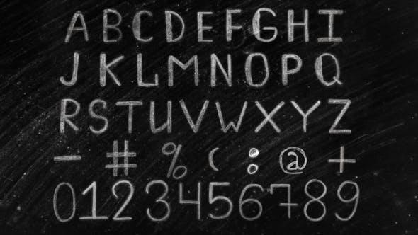 Thumbnail for Alfabeto tiza