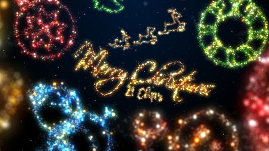 Thumbnail for Christmas Sparkling Elements