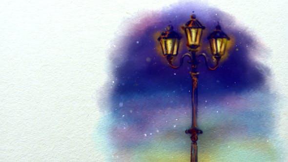 Thumbnail for Christmas Animated Handmade Background