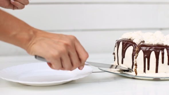 Thumbnail for Woman Cuts the Cake