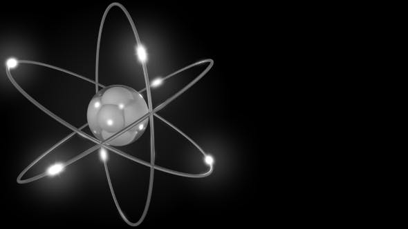 Thumbnail for Grey Stylized Atom and Electron Orbits