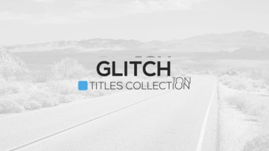 Thumbnail for Glitch Titles Package