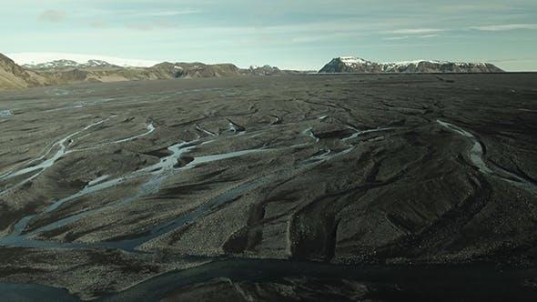 Thumbnail for Iceland, Mountains Volcano Black Sand Landscape