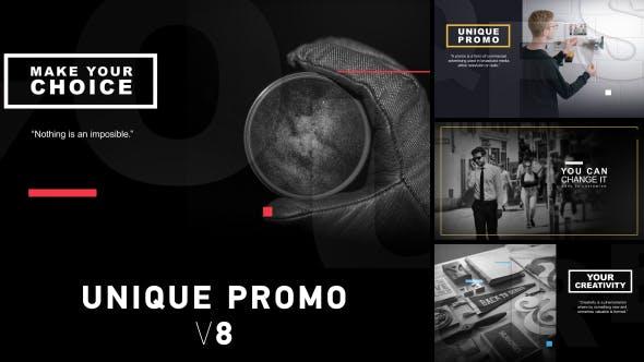 Thumbnail for Unique Promo v8 | Corporate Presentation