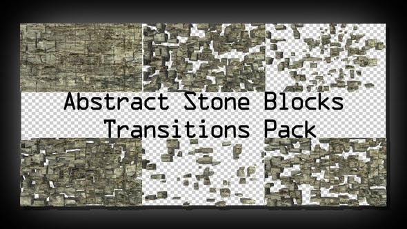 Thumbnail for Abstract Stone Blocks Transitions Pack