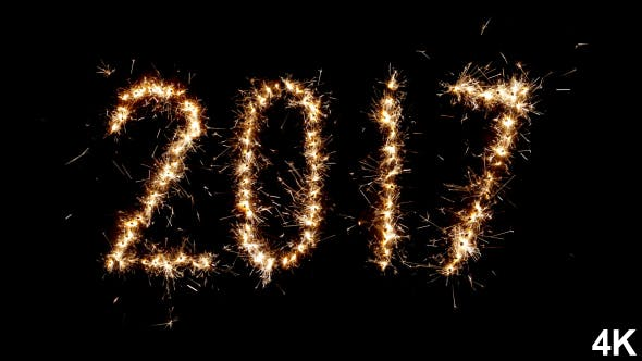 Thumbnail for 2017 New Year Sparkler