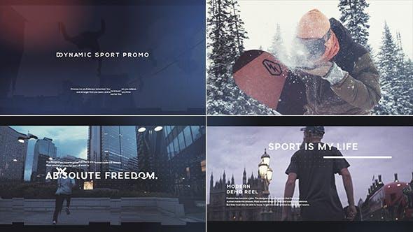 Thumbnail for Dynamic Sport Promo