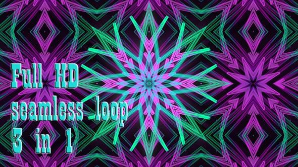 Thumbnail for Snowflake Asterisk Kaleidoscope