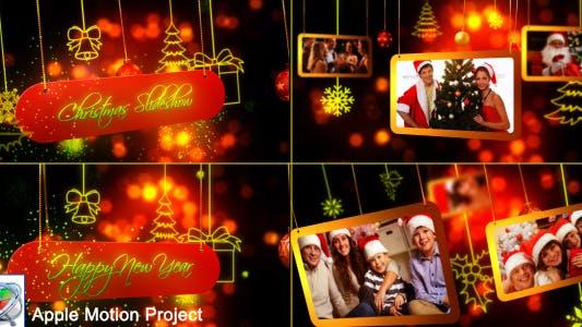Thumbnail for Christmas Slideshow - Apple Motion