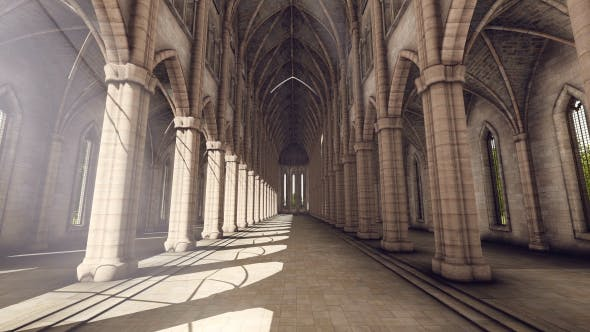 Cover Image for Gothic Cathedral - Sunny Day