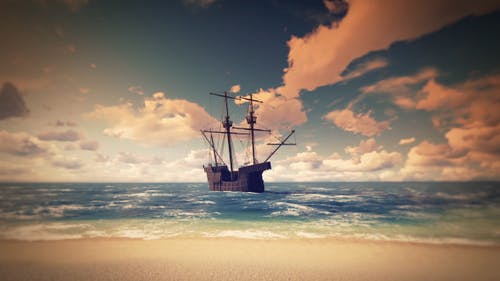 Piraten-Strand