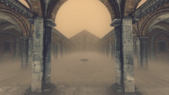 Thumbnail for 3D Old Cloister - Foggy