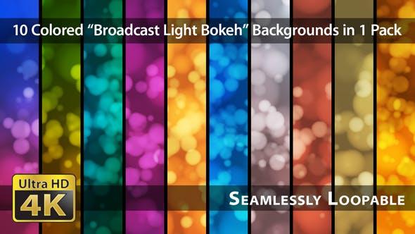 Thumbnail for Broadcast Light Bokeh - Pack 10