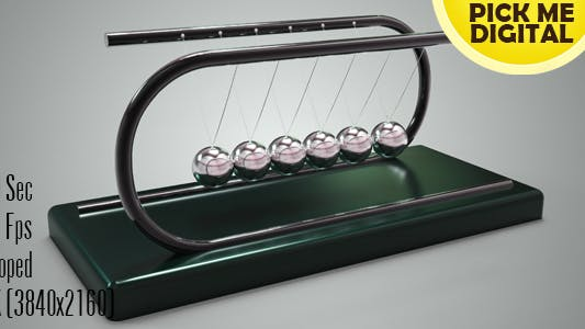 Cover Image for Newton's Cradle 7