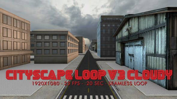 Cityscape Loop (Layout V3) Cloudy