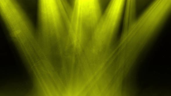 Yellow Light Rays