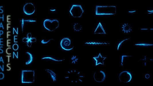 Thumbnail for Shapes And Effects Neon