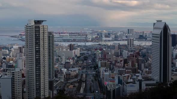 Thumbnail for Kobe City High Towers Traffic Baymouth Timelapse