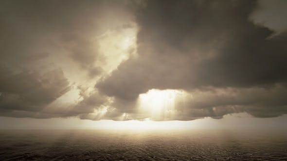 Thumbnail for Ocean And Clouds - Dark Weather